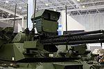 Боевой многофункциональный робототехнический комплекс Уран-9 - Международного военно-технического форума АРМИЯ-2016 03.jpg