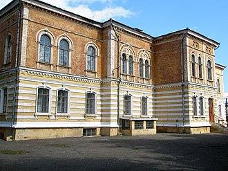Cetatea Albă County - Cetatea Albă County prefecture building of the interwar period.