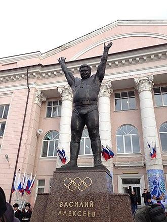 Shakhty -  Monument to Vasily Alexeyev