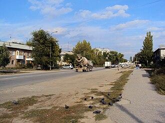 Volgograd Oblast - Image: В целом город приземист и уютен