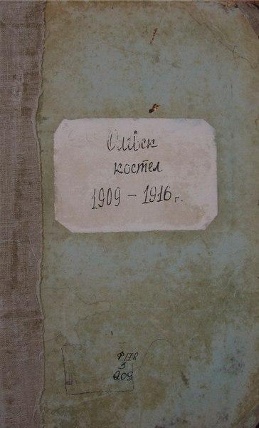 File:ДАЖО 178-03-0209. 1909-1916 роки. Метричні книги Олевського костелу.pdf