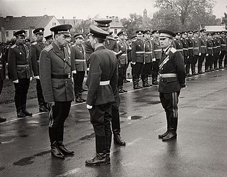 Group of Soviet Forces in Germany - Inspection of 39th Guards Motor Rifle Division, 1968
