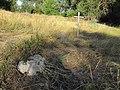Курган біля кладовища с.Новоселівка, загальне розташування кам'яних хрестів.JPG