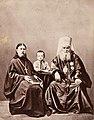 Митрополит Московский и Колом.Иннокентий с сыном,протоиер.Гавриилом,вн.Евсеем.1868г 1a ГИМ e1.jpg
