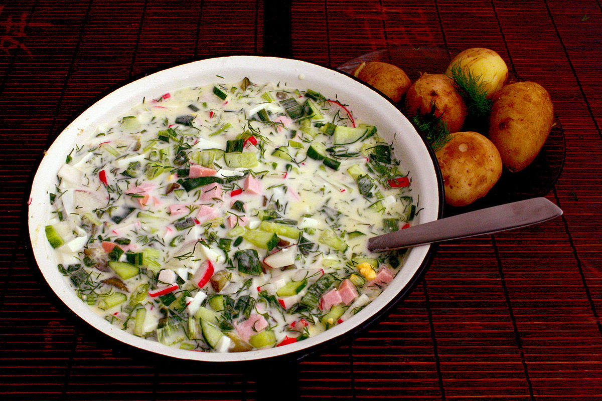 Okroshka on mineral water: 7 recipes 37