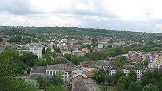 Terebovlia City in Ternopil Oblast, Ukraine