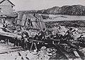 Североморцы на субботнике по строительству Полярного 1935 год.JPG