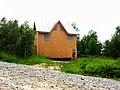 Строящийся дом в поселке УНИВЕРСИТЕТСКИЙ рядом с Академгородком Новосибирска 05.jpg