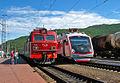 ЭП1-158 и ВС1Н-003, станция Слюдянка-I.jpg