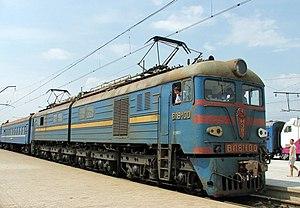 Novocherkassk Electric Locomotive Plant - Electric loc VL8M-100