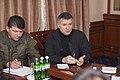 Яценюк і Аваков обговорили питання розвитку Національної гвардії 8156 (22567292905).jpg