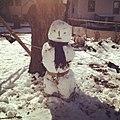 رجل الثلج snowman.JPG
