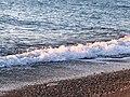 منظر من المحيط على شاطيء ناميبيا.jpg
