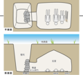地下式横穴墓の模式図.png