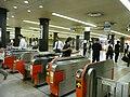 地下鉄博多駅改札.JPG