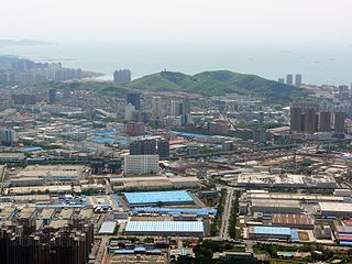 Dalian Development Area previously known as Dalian Development Zone