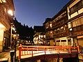 温泉街の夕暮れ - panoramio.jpg