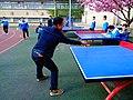 雁塔 陕师大附中分校在打乒乓球 01.jpg