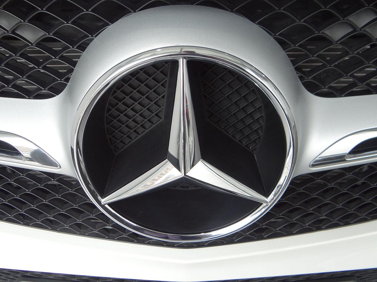 File:(Mercedes-Benz, Silver, front logo, (Mercedes-Benz ...