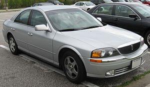 Ford DEW platform - Image: 00 02 Lincoln LS