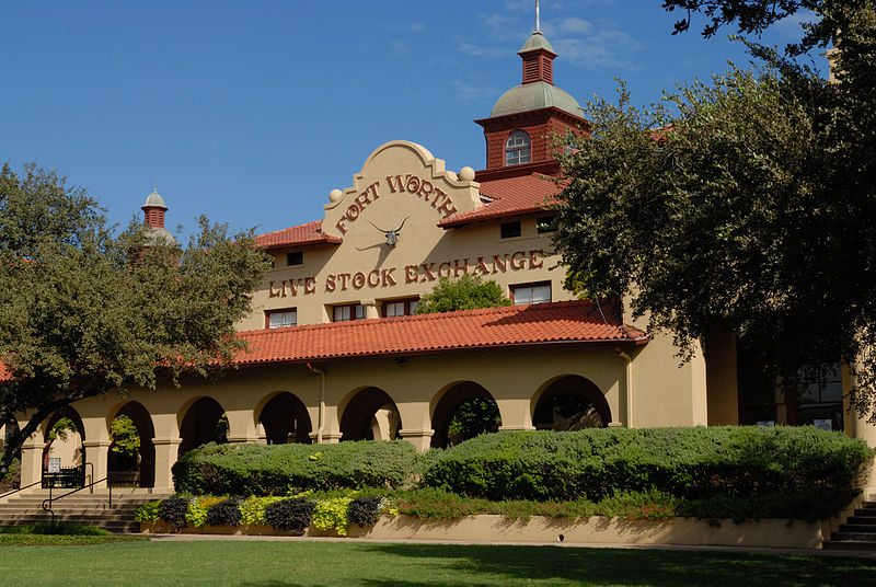 File:0011Fort Worth Stockyards Live Stock Exchange SE Texas.jpg
