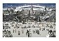 01. Miroslav Huptych, cyklus J. A. Komenský Labyrint světa a ráj srdce - Poutník prohlédá stav nábožníků (2013), 1000 x 700 mm, majetek autora.jpg