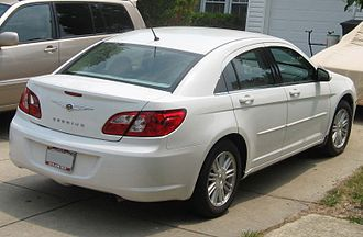 2007 Chrysler Sebring sedan 07-Chrysler-Sebring-sedan-rear.jpg