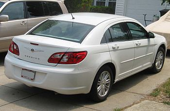2007 Chrysler Sebring photographed in USA.