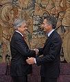 10-04-08 Mauricio Macri - Encuentro con el Presidente de Chile, Sebastián Piñera.jpg