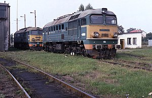 M62 locomotive - ST44-968