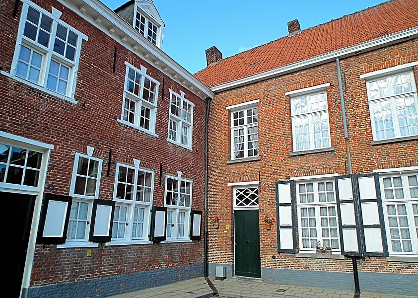 Belgium - Turnhout. Beguinage - World Heritage