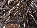 136 Parc arqueològic de les Mines de Gavà, model de cabana neolítica.JPG