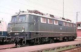 DB 139 310-7 in 1973 te Offenburg
