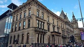 Buchanan Street - The original Western Club building in Buchanan Street, Glasgow