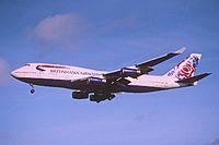 G-CIVA - B744 - British Airways
