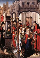 The Preaching of St Géry