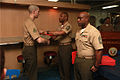 15th MEU Corporals' Course graduation on USS Peleliu 130315-M-YG378-040.jpg