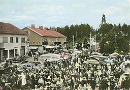 Marked i Åsele under midten af 1900-tallet.