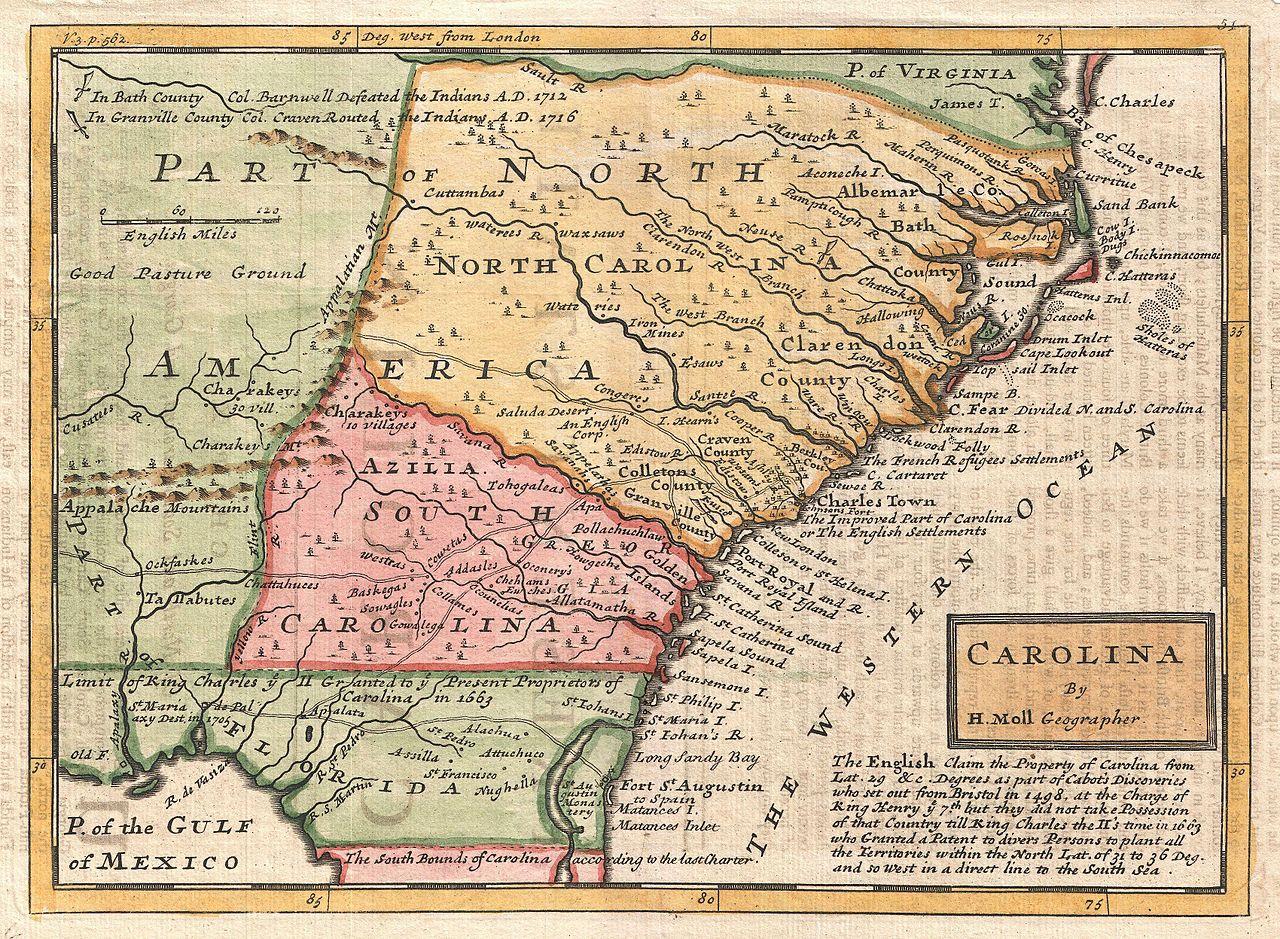 Carolina Colonies