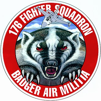 176th Fighter Squadron - Image: 176th FS WIANG Patch