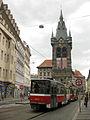 182 Jindřišská Ulice, tramvia i torre de Sant Enric.jpg
