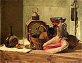 1833 Ferdinand Tellgmann, Stillleben, Papier auf Pappe 64,5 x 82,5 cm, Museumslandschaft Hessen Kassel.jpg