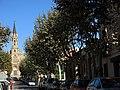 185 Pg. Mossèn Jaume Gordi i Església Major (Sta Coloma de Gramenet).JPG