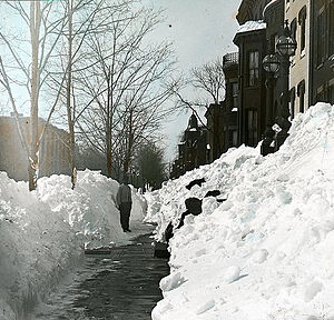 1899 in the United States - 1899 snowstorm in Washington, DC