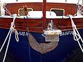 189 Barca a la platja de Sant Feliu de Guíxols.jpg