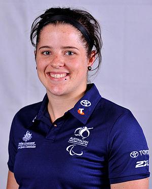Cobi Crispin - 2012 Australian Paralympic Team portrait of Crispin