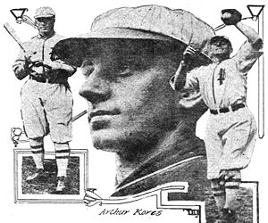Art Kores - Kores as a member of the Portland Beavers