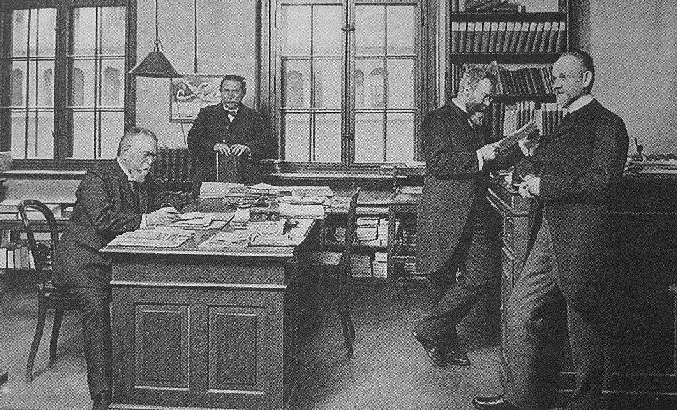 1913 Meyer Redakteure