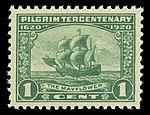 1920USstamp1centPilgrimTercentenaryTheMayflower.jpg