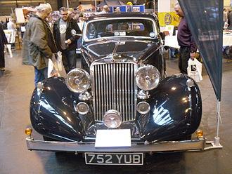 Sunbeam-Talbot - 4-litre 6-light 4-door sports saloon 1939 rebadged Humber Super Snipe
